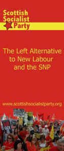 SSP - The Left Alternatve to New Labour and the SNP