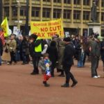 SSP on Glasgow bedroom tax protest