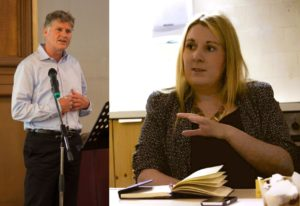 Our elected joint national spokespeople, Colin Fox and Katie Bonnar